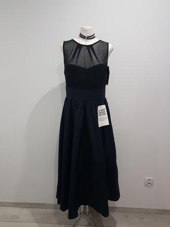 Śliczna wieczorowa sukienka Swing