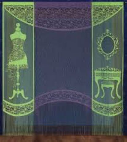 Wisan NOWE Firana firanka komplet panele zasłony salon sypialnia