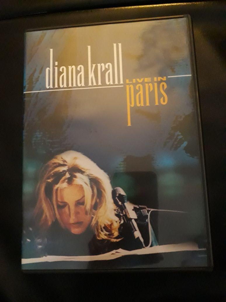 DVD música jazz Diana Krall Live in Paris