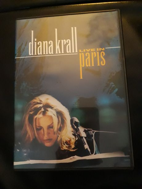 DVD música jazz Diana Krall Live in Paris