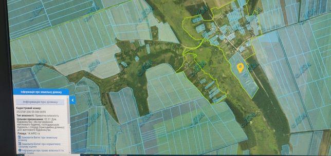 Земельна ділянка під будівництво 14га