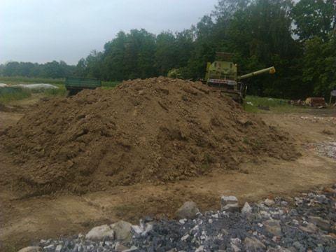 Ziemia wierzchniówka ! Przyjmę gruz ceglano betonowy !
