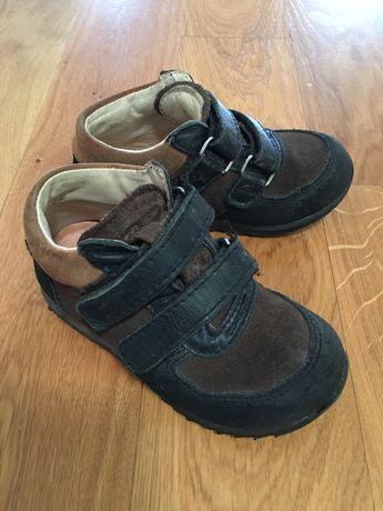 Skórzane buty trzewiki Mrugała 23 24