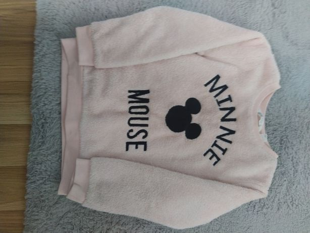 Bluza H&M Minnie mouse 122/128