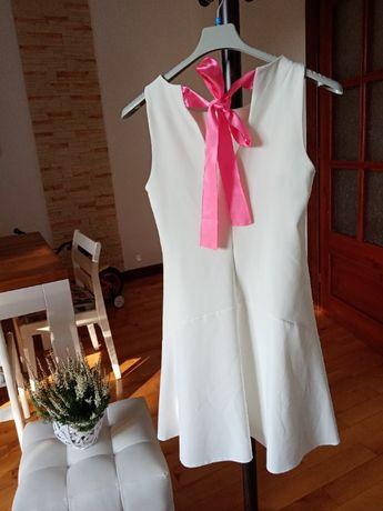 Sprzedam białą sukienkę