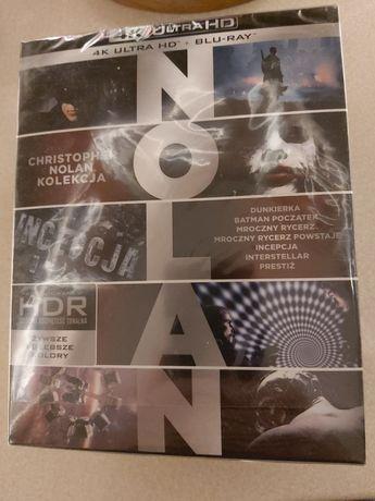 Zestaw Nolan 4k + blu-ray