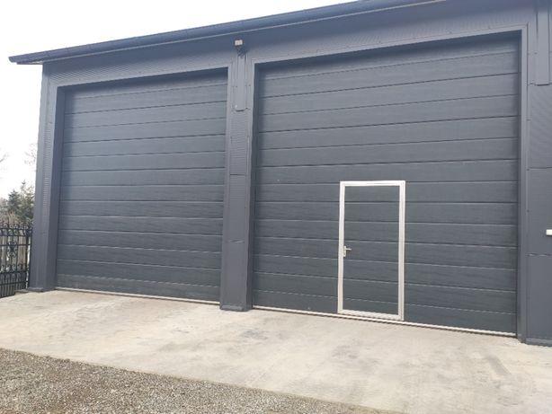 PRODUCENT brama segmentowa garażowa przemysłowa bramy garażowe ŁĘCZNA