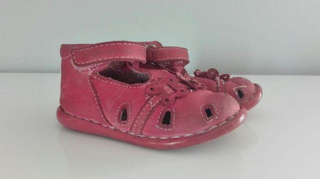 Buty dziecięce r. 21 skórzane sandały