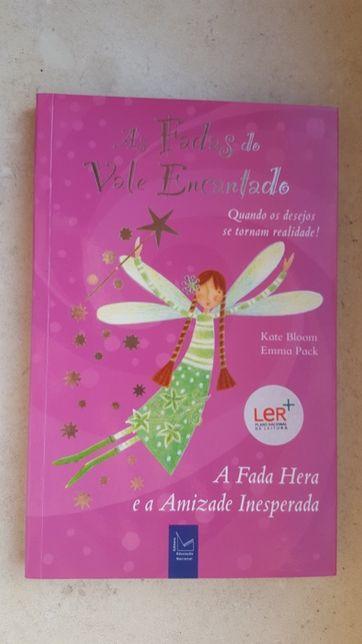 """Livro """"As fadas do vale encantado, A fada Hera e a amizade inesperada"""""""