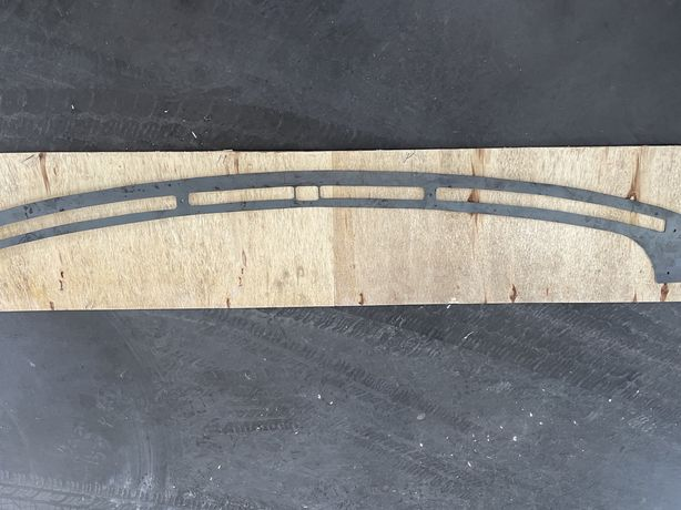 Chapa reparaçao tablier p38