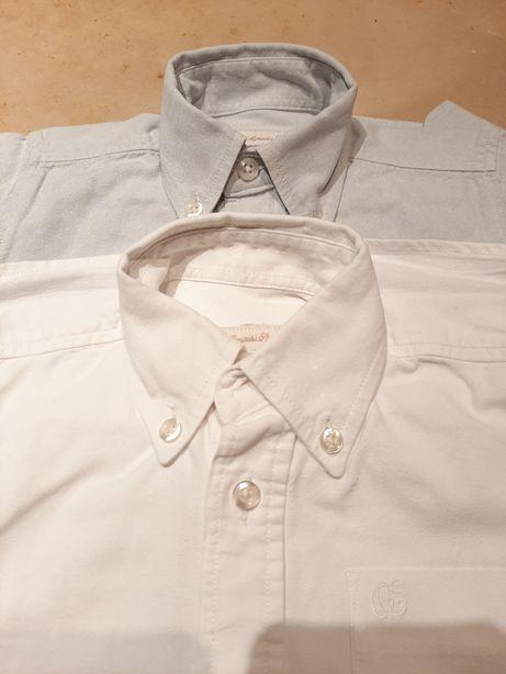 2 Camisas branca e cinzav18m OVO ESTRELADO