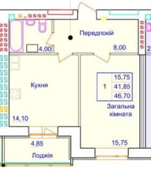 1 комн. квартира