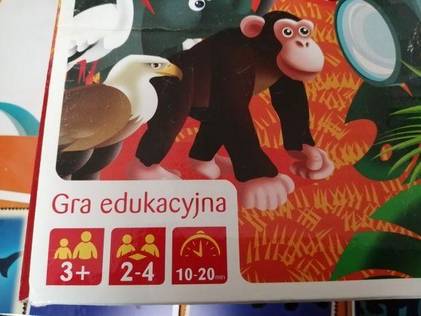 Jaki to zwierz TREFL 3+ Gra dla dzieci