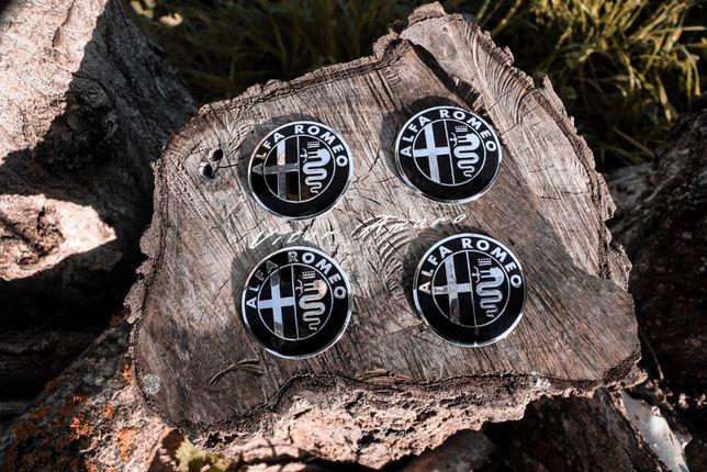 4 Simbolos/Logos para Jantes em Alumínio Alfa Romeo Nº2|NOVA