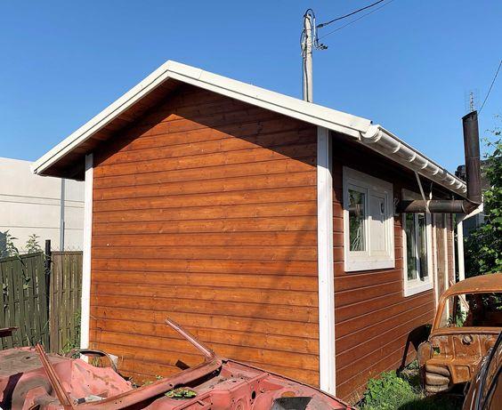 Domek drewniany całoroczny