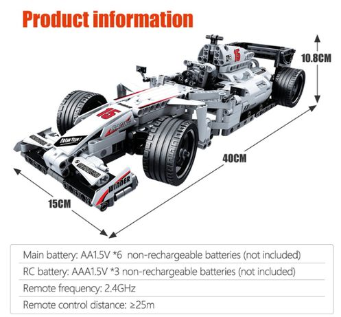 KLOCKI LEGO samochód auto wyścigówka lego technique idealny prezent
