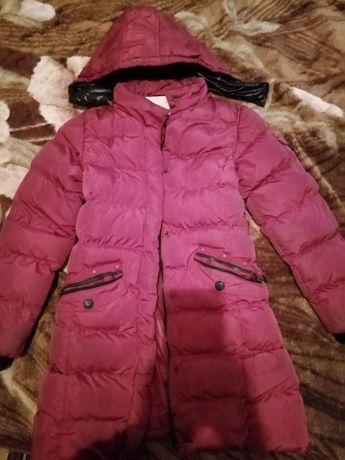 Пальто парка пуховик зимняя