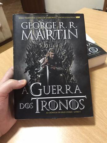 A Guerra dos Tronos - As Crónicas de Gelo e Fogo Volume 1