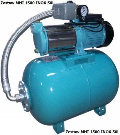 Hydrofor + Pompa Zestaw MHI 1500/230V INOX 50L Omnigena wysyłka 24h!