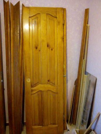 Межкомнатная дверь с обналичкой