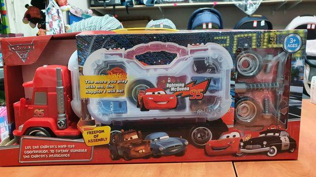 Tir Cars do rozkręcania + 8 autek. Nowe komis Maja