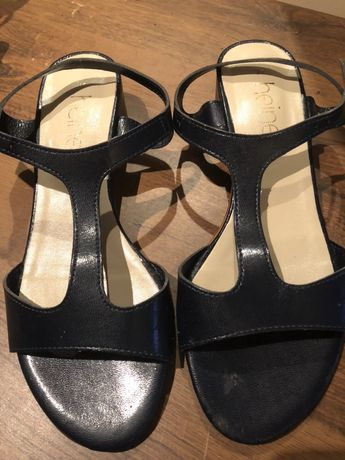 Sandały skórzane Heine 37