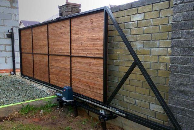 Каркас откатных ворот, раздвижные ворота 5090 грн