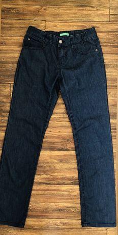 Фирменные джинсы штаны Benetton 42-44 размер парень школа