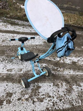 Велосипед с родительской ручкой