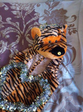 Новогодний костюм Тигра. РЫЧИТ! на 3-5 лет. 95-104 р. Карнавальный