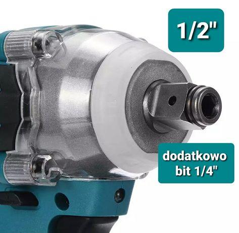 Klucz udarowy 320Nm bezszczotkowy silnik do akumulator Makita 18V