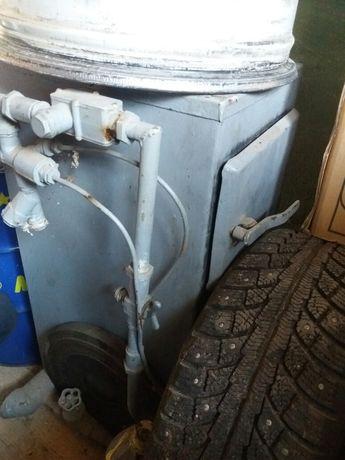 Газовый твердотопливный КОТЕЛ КС-тг-10. Твердопаливний с автоматикой