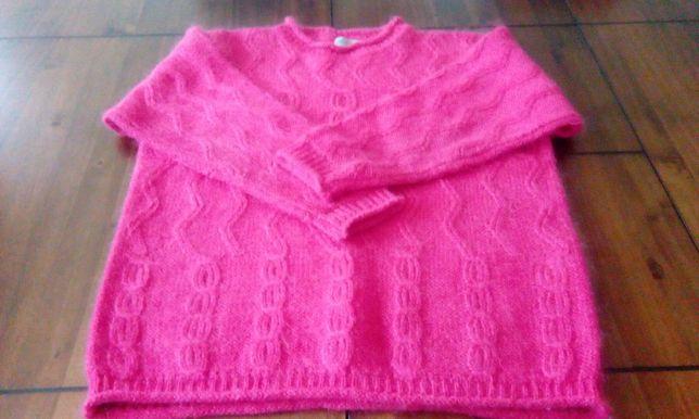 Sweter roz XL Obniżka na 25zł