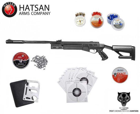 155 13 Wiatrówka Hatsan TG AirTact QE 4.5mm/5.5mm ZESTAW! OKAZJA !!