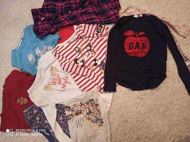 Zestaw bluzki, koszulki, gap, gymboree, dziewczynka