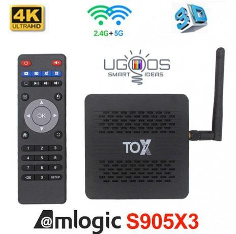 [НАСТРОЙКА] Smart TV Tox1 4/32 GB смарт тв приставка (UGOOS)