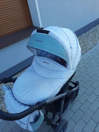 Wózek Bebetto Vulcano + nosidełko