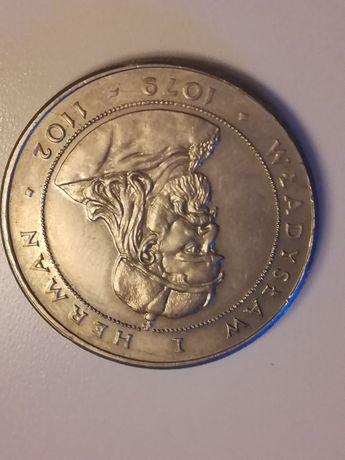 Moneta 50zl Władysław I Herman z 1981r