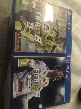 PS4  gry PlayStation FIFA 17 FIFA 18 oddam za slodycze