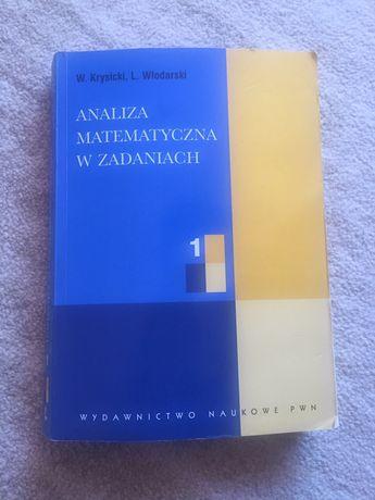 Analiza matematyczna w zadaniach 1 Krysicki Włodarski
