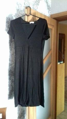 Sukienka dzianinowa Orsay M czarna do pracy i nie tylko
