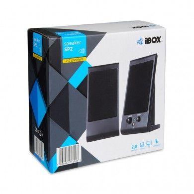 Zestaw głośników komputerowych IBOX SP2, 2.0 IGLSP2