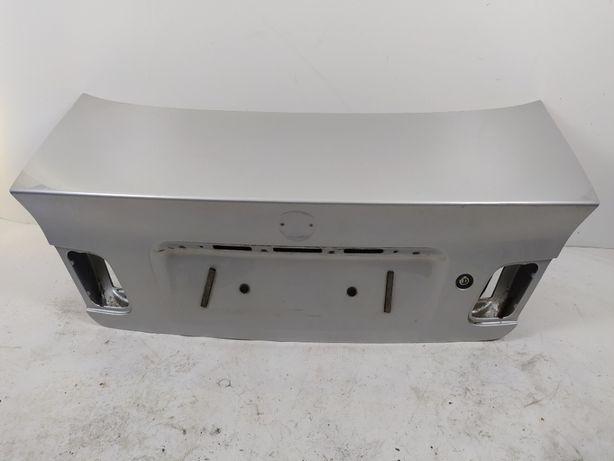 BMW E46 SEDAN Klapa Tylna Tył Pokrywa Bagażnika SREBRNA