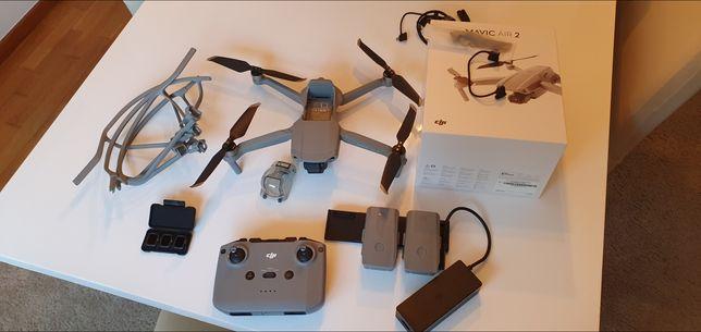 Drone DJI Mavic Air2 Fly More Combo e Filtros dji extra