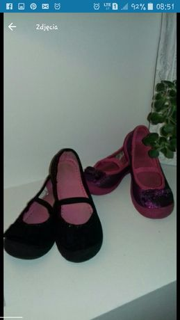 Buty balerinki dla dziewczynki 27