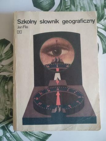 Jan Flis Szkolny słownik geograficzny.