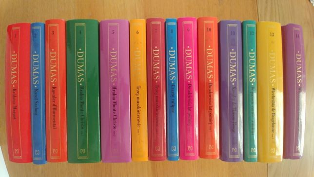 Kolekcja Hachette - A. Dumas - 14 tomów