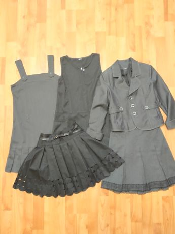 Школьная форма. Юбка, сарафан, пиджак