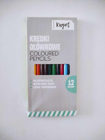 KAYET Kredki ołówkowe 12 kolorów
