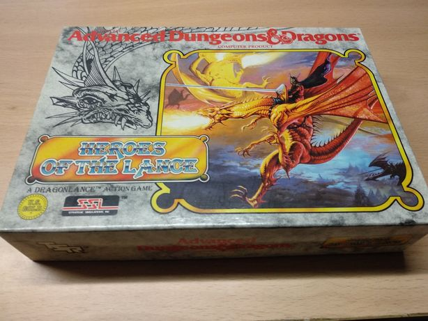 Vendo jogo Heroes of the Lance (Advanced Dungerous & Dragons)
